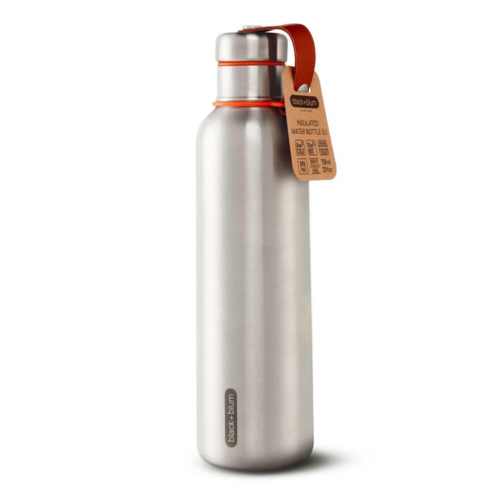 Watre bottle Inox thermos avec Charbon actif binchotan spirale
