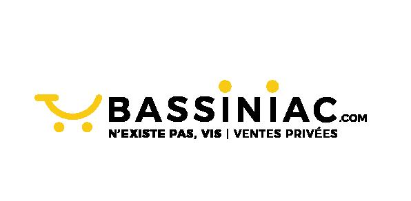 logo noir + baseline Bassiniac.com